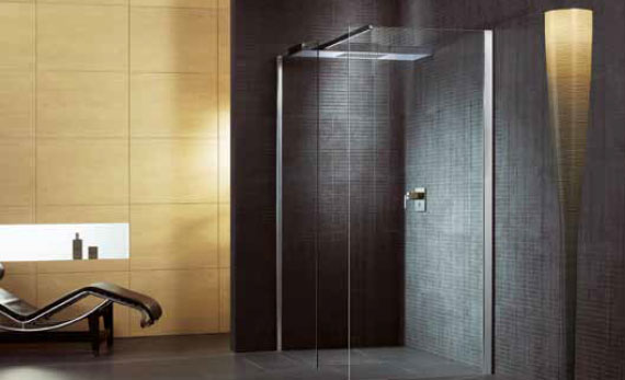 verre de douche showerguard facile nettoyer. Black Bedroom Furniture Sets. Home Design Ideas