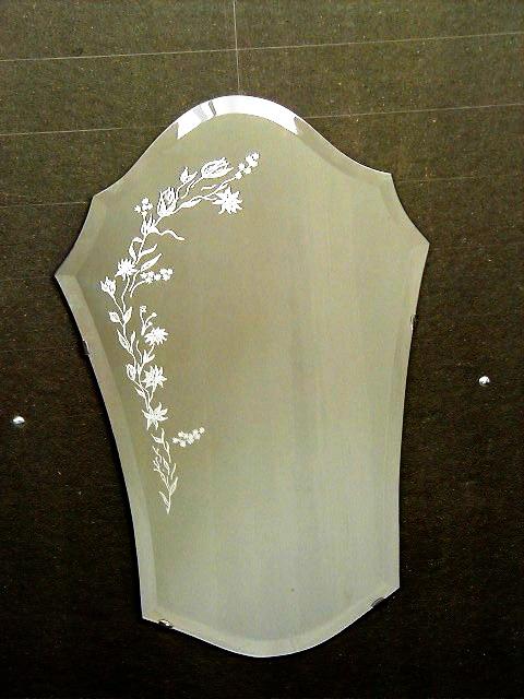 Galerie photos miroiterie vitrerie lille roubaix for Gravure sur miroir